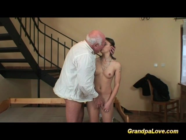 Old Guy Fucks Black Girl
