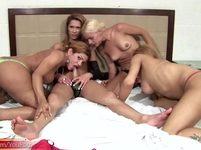 Trannys fuck girls