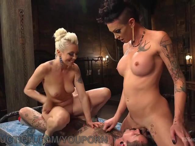Playboy lesbienne trio