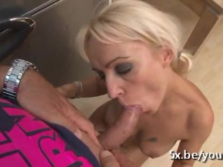 Cleaning Lady Alexa fucked by Stefano