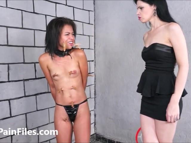 Bbw Lesbian Dominates Girl