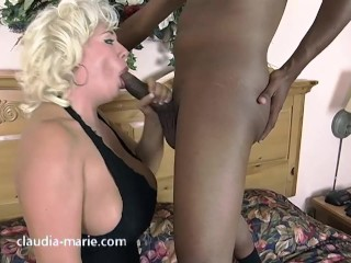 Claudia Marie Anal Breeding From Black Cock