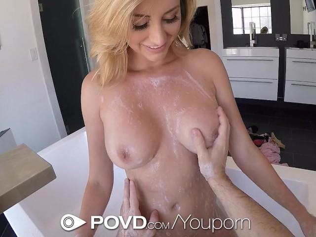Sexy Blonde Pov Creampie
