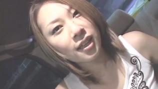 Jyuri Serizawa loves stroking cock in the car