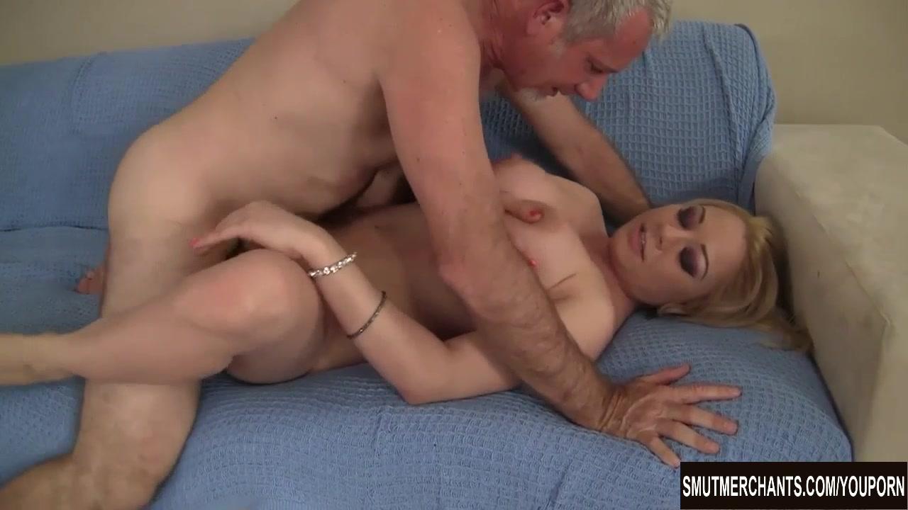 Blonde girl cum in her mouth