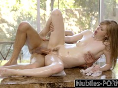 Picture Nubiles-Porn Blonde Babe Getting Pounded By...