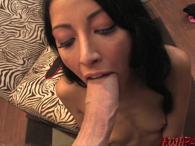 Asian Sucking White Dick