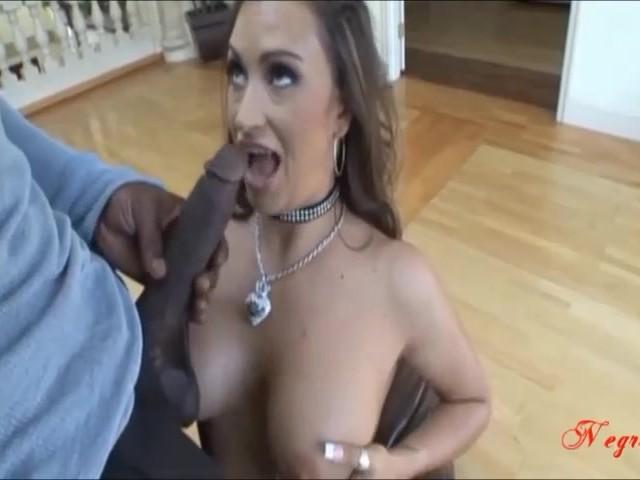 Latina Takes Big Black Dick