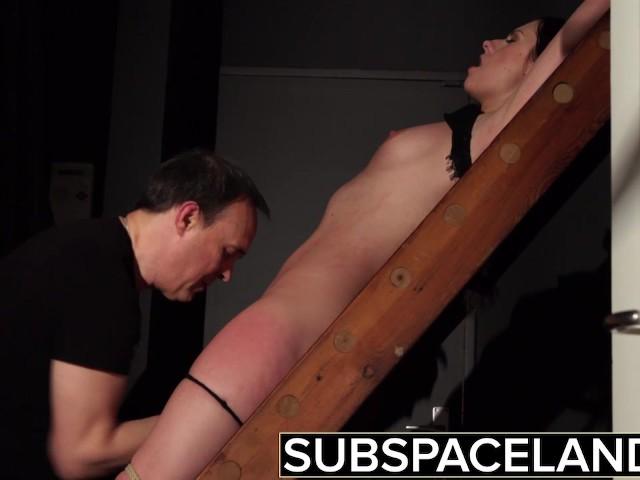 Bdsm Hardcore Spanking Sex Slave Swallows Cum After -5689