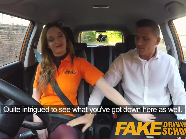 Fake Driving School Anal