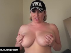 Busty Maggie Green Gets...