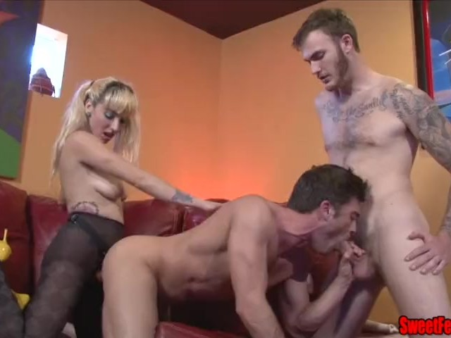 Bi Mmf Threesome Creampie