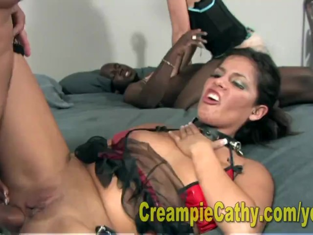 India Summer Anal Creampie