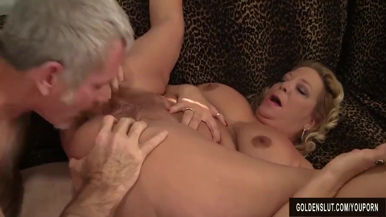 Cum in grandmothers mouth