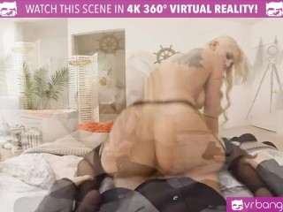 VR PORN-big tits blonde Kenzie Taylor fucked hard by a secret agent