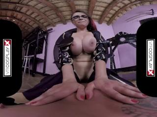وي آر Cosplay X Busty Marta La Croft As Bayonetta VR Sex فلم