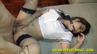 Asian Street Meat XXX  Good Thai Girl Refuses Payment For Sex