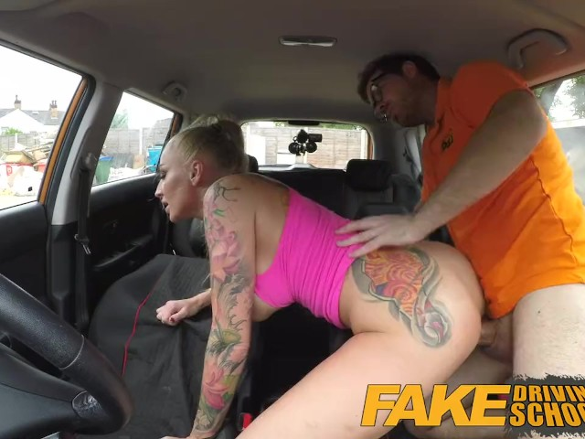 Fake Agent Blonde Big Tits