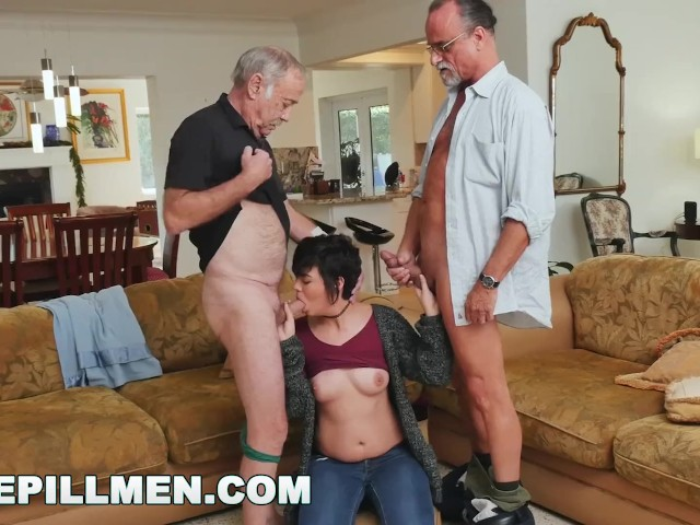 Amateur Threesome Two Guys