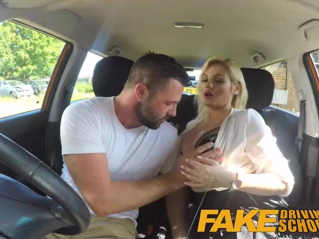 Fake Driving School Facial