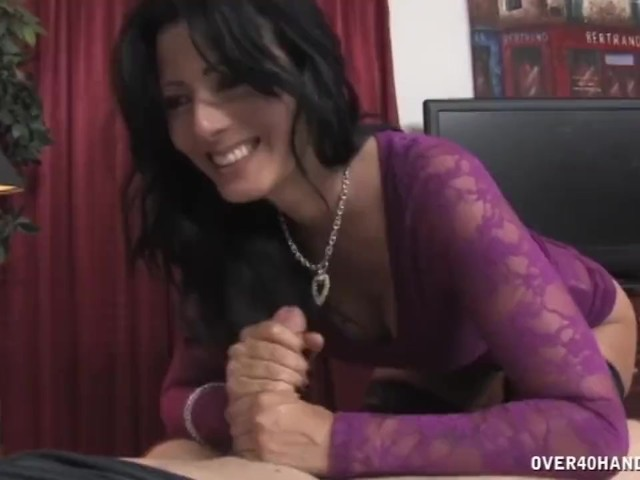 Horny Milf Jerks Off A Man - Free Porn Videos - Youporn-2766
