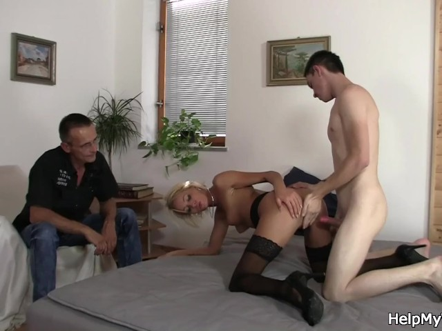Hot Wife Fucks Young Guy