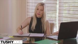 TUSHY Hot Secretary Has Anal With Her Boss