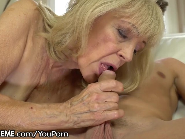 Blonde Milf Fucks Young Cock