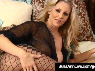 Main Blistering Mommy Julia Ann Touches Herself Till She Orgasms!
