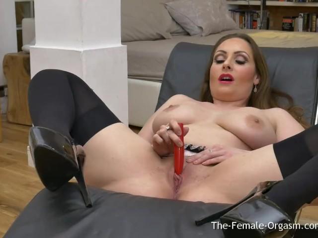 Oiled Masturbation Solo Orgasm