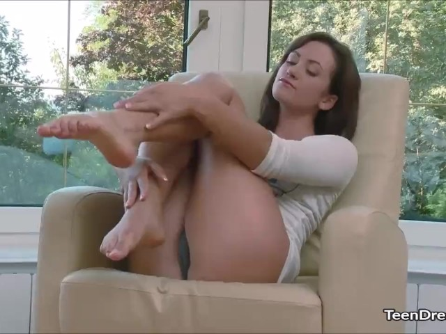 Hot Girl Fingers Her Pussy