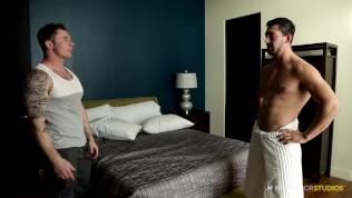 NextDoorStudios Straight Guy Friends Practice Anal Sex 4 Role