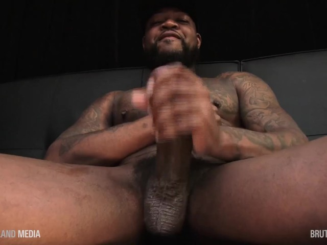 Sucking Big Black Dick Outside