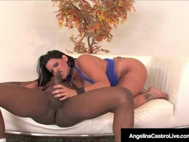 Angelina Valentine Black Cock