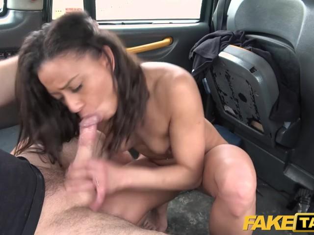 Taxi fake sex