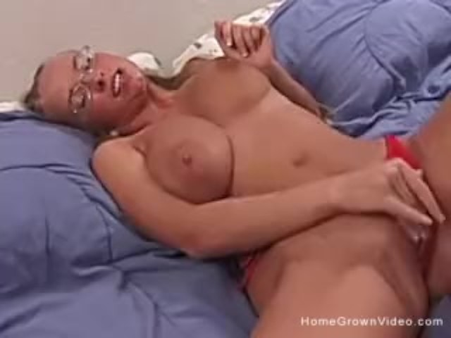 Natural Big Tits Masturbation