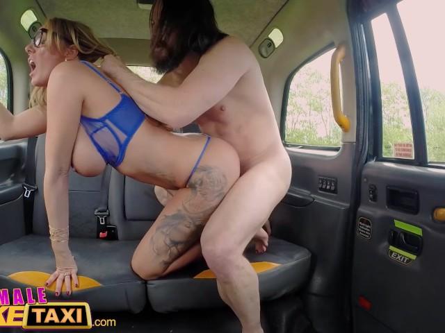Female Fake Taxi Interracial