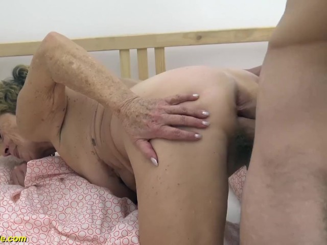 Old Squirting Lesbian Granny