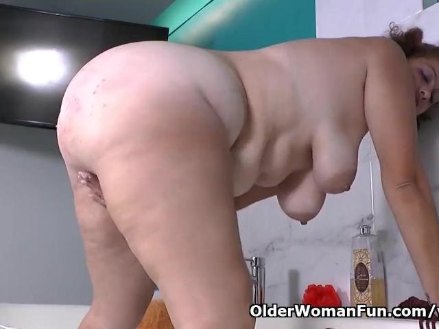 Bbw Milf Gets Good Orgasm