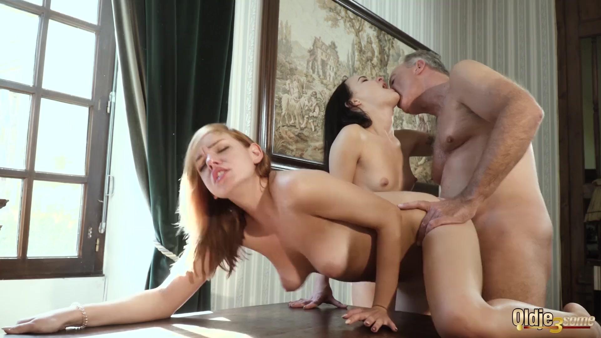 Public orgy porn