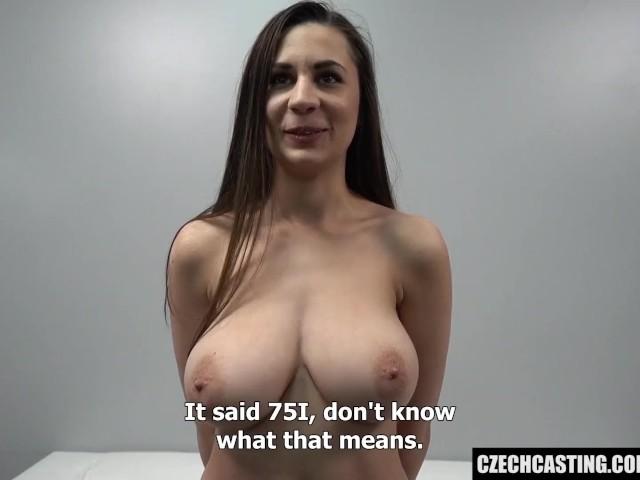 Big Natural Tits Teen Casting
