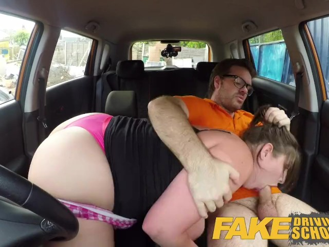 Fake Driving School Busty Curvy Learners Horny Blowjob And -1680