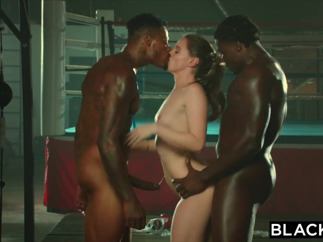Blacked Tori Black Is Oiled Up And Dominated By Two Bbcs -5542