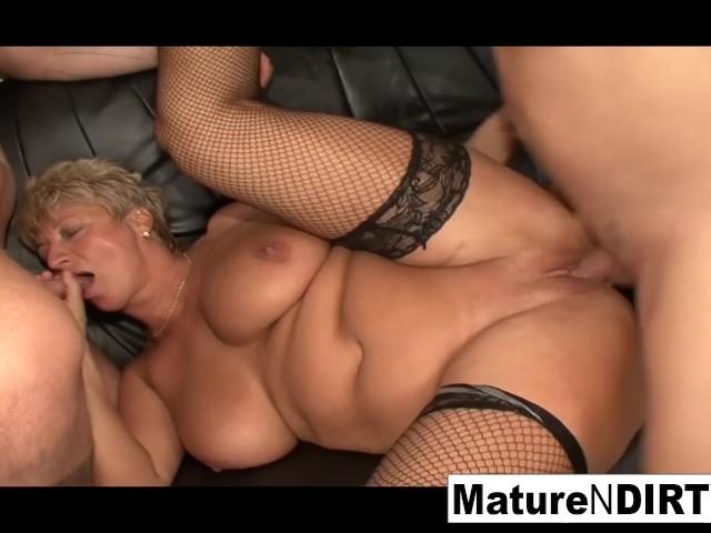Mature Wife Takes Big Cock