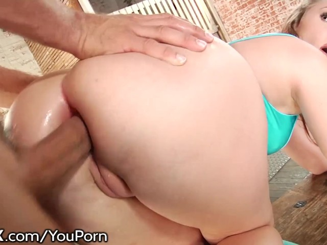 Big Booty White Girl Facial