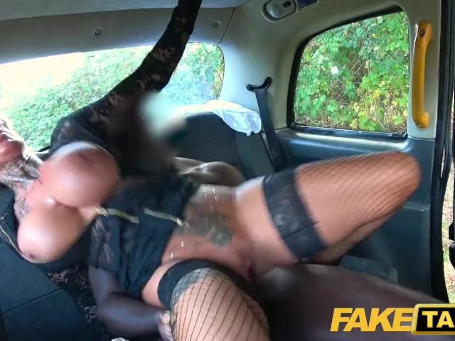 Female Fake Taxi Blonde