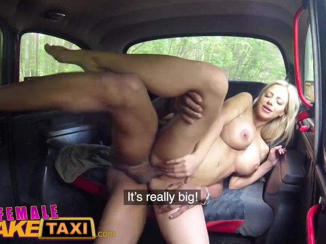 Fake Taxi Big Black Cock