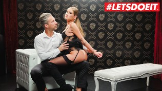 LETSDOEIT - TIFFANY TATUM Fucked Tied On The Bed By Her Favorite Cock