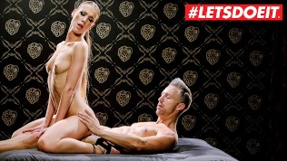 LETSDOEIT - KINKY Teen Gets Tied Up And Fucked Hard
