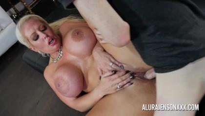 Big Tit Pornstar Alura Jenson Fucks A Hung Young Stud Free Porn